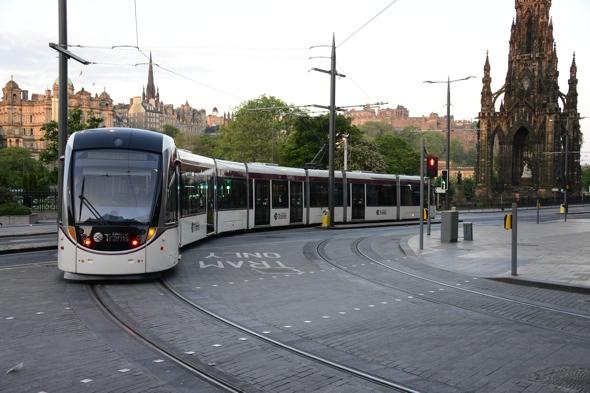 Edinburghs New Tram Service Hailed Fantastic