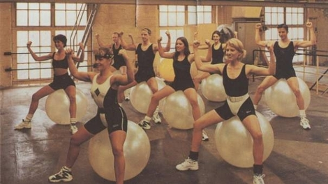 very best places to fart, best fart locations, on an exercise ball fart