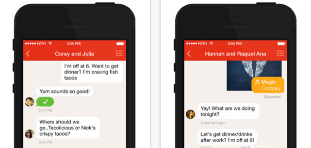 Path Talk for iPhone