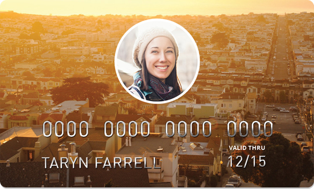 Shift's debit card