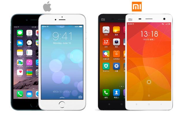 xiaomi apple comparison