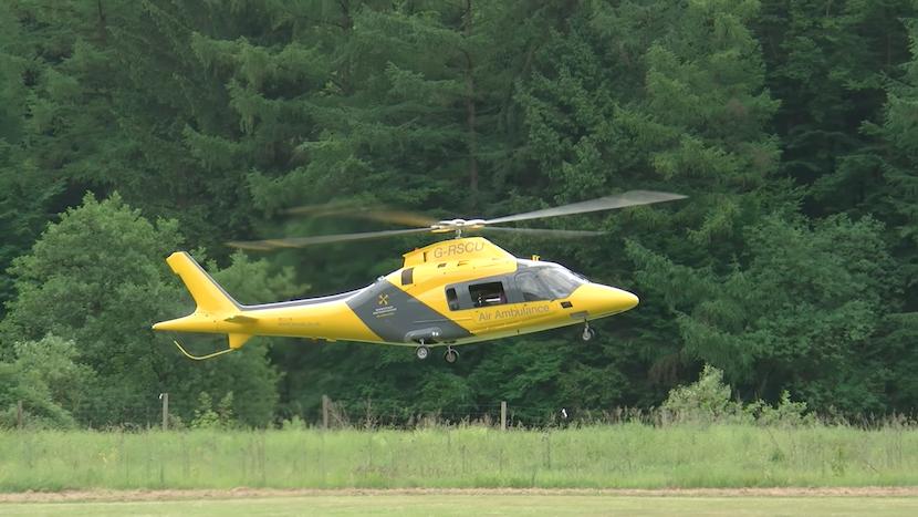Filmreifer Crash: Wie ein edler RC-Helikopter die Kontrolle verliert