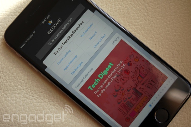 Wildcard aims to replace your phone's web browser with mobile cards