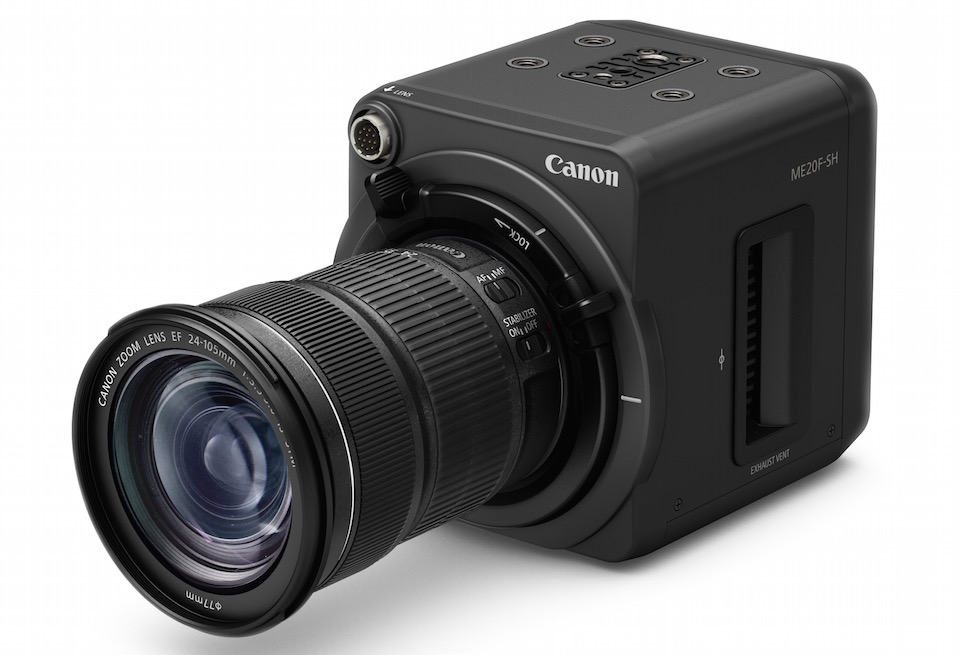 Canon's new $30,000 video camera can see where you can't