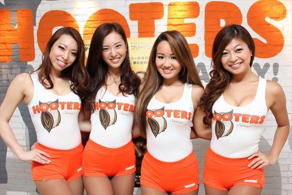 渋谷店フーターズガール座談会 「男性の皆さんは、もっとはっちゃけて良いと思います!」