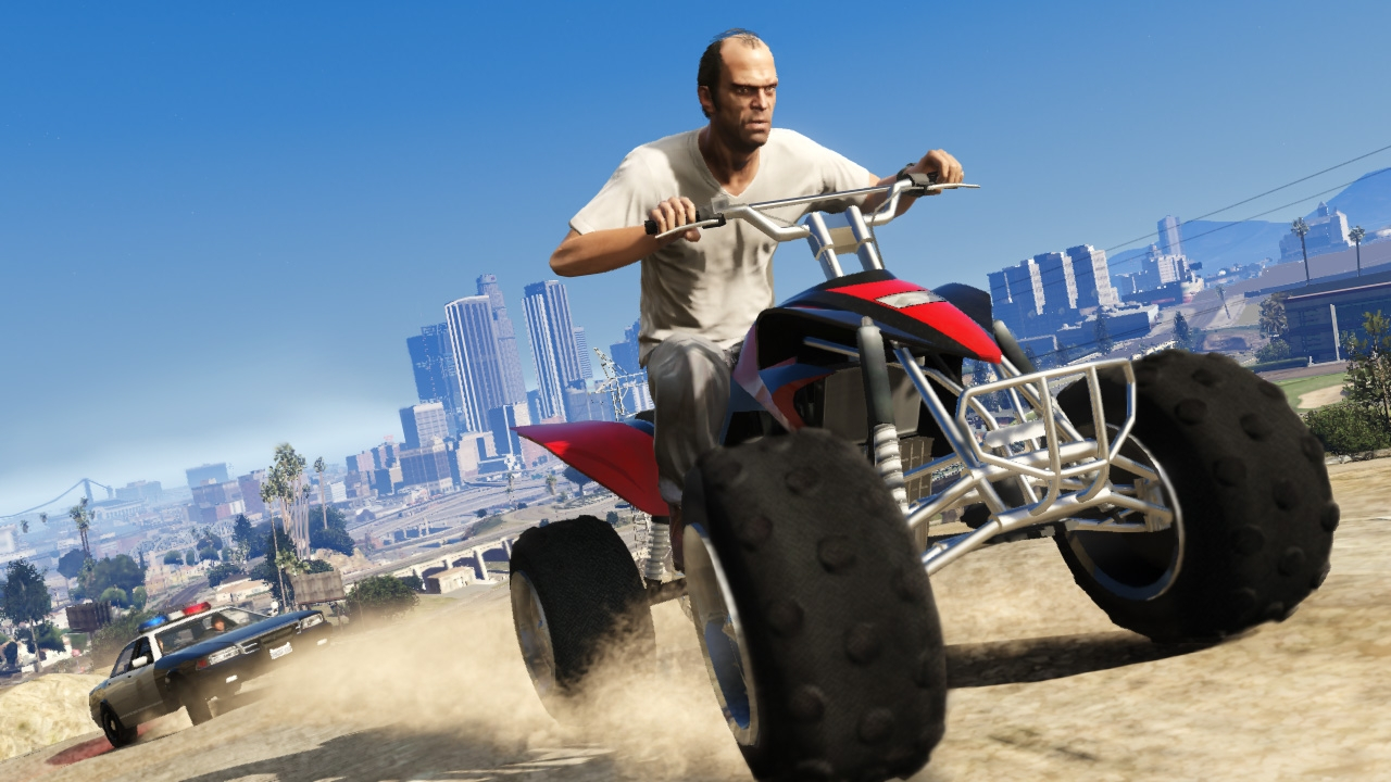Here's how GTA V's first-person gameplay looks!