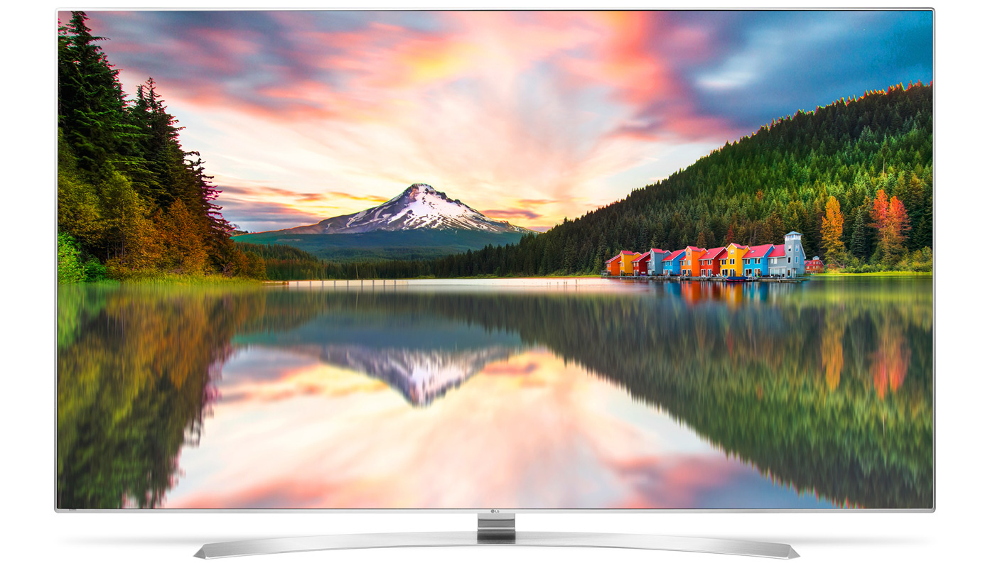 lg zeigt auf der ces einen ersten 8k fernseher engadget. Black Bedroom Furniture Sets. Home Design Ideas