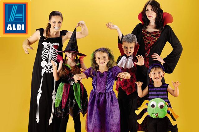 WIN £300 Aldi vouchers to spend on Halloween gear!