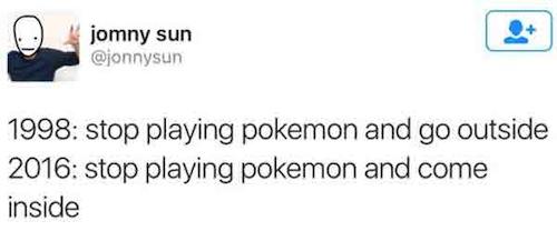 funny pokemon go memes, funny pokemom go tweets, funny pokemon photos