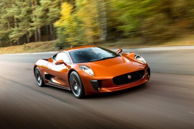 『007』最新作に登場するジャガー「C-X75」を、「ジャガー・バーチャル・ドライブ」で仮想体験しよう!