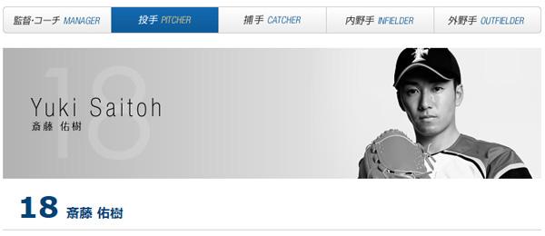 日本ハム・斎藤佑樹の「推しメン」が乃木坂46白石麻衣であることが判明、ネット上で話題に