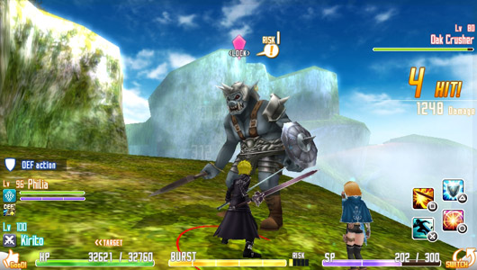 Bandai Namco bringing RPG Sword Art Online to NA Vitas this summer