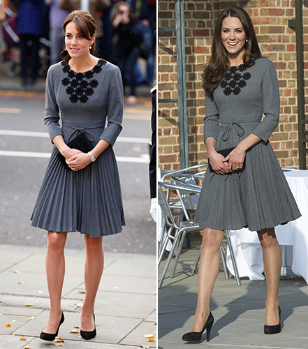 Duchess of Cambridge in Orla Kiely