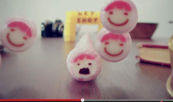 金太郎飴がリズミカルに歌いだす!かわいすぎる動画に話題沸騰