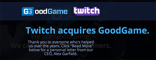 Twitch to acquire eSports agency GoodGame