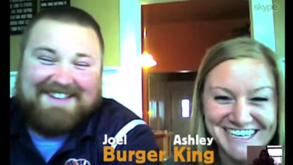 バーガーさんとキングさんが結婚→バーガーキングさんに バーガーキングが粋な対応!