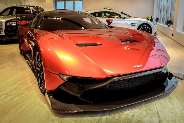 24台限定生産のアストンマーティン「ヴァルカン」を、オハイオ州のショップが4億円で売り出し中