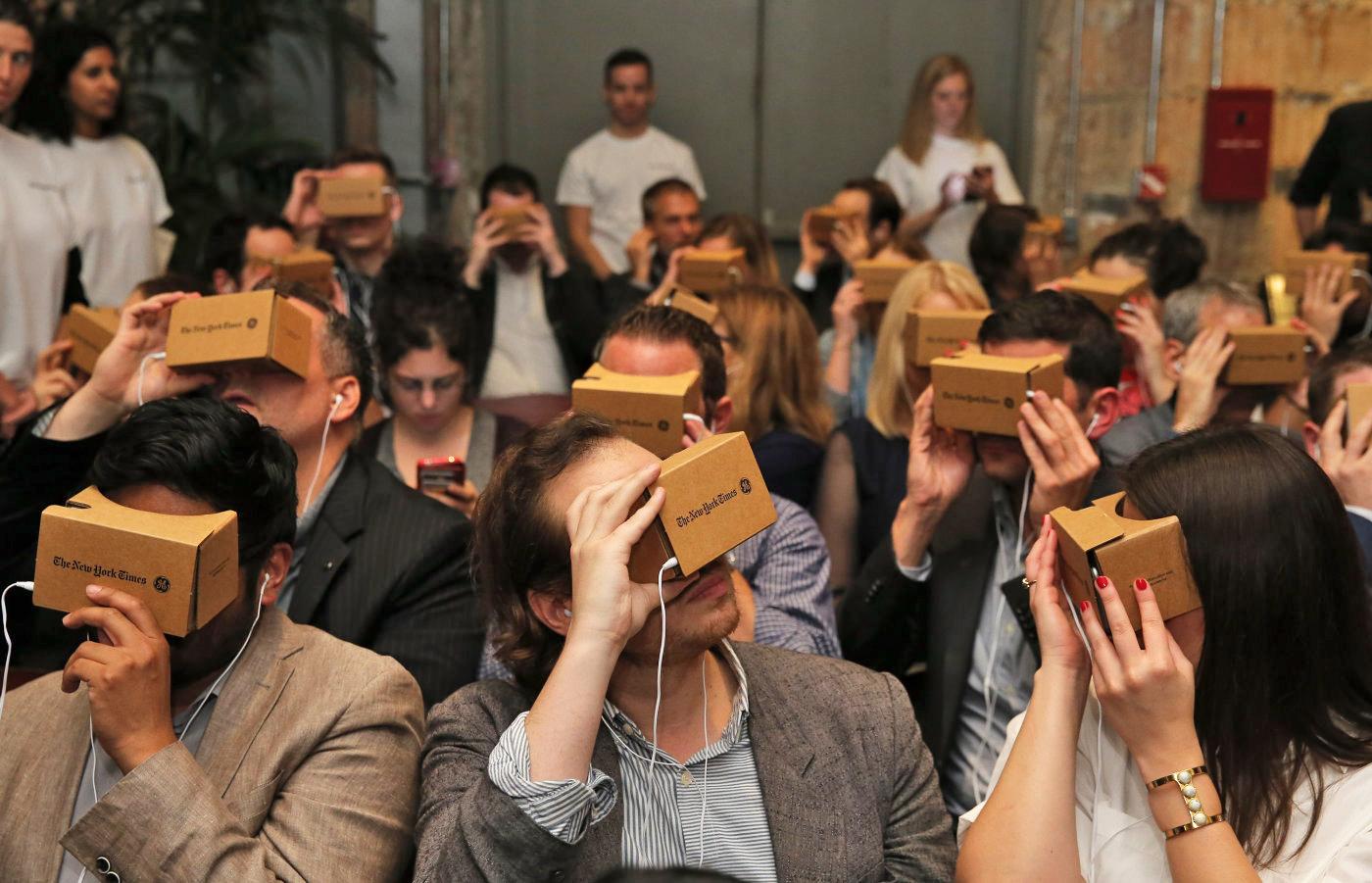 Google ha vendido 5 millones de gafas VR de cartón