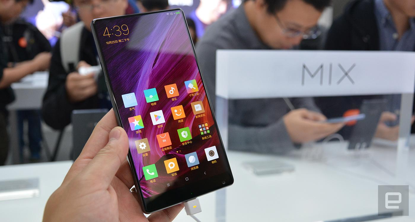 小米 MIX 是一款能买到的「概念」手机