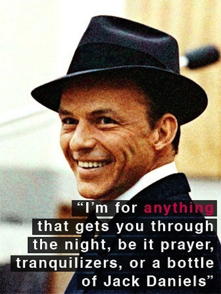 most successful drunks in history, frank sinatra