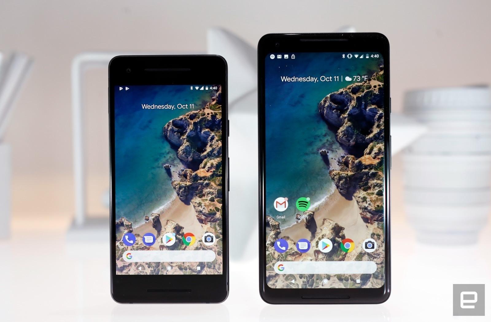 Google Pixel 2 XL mit neuen Bildschirmproblemen