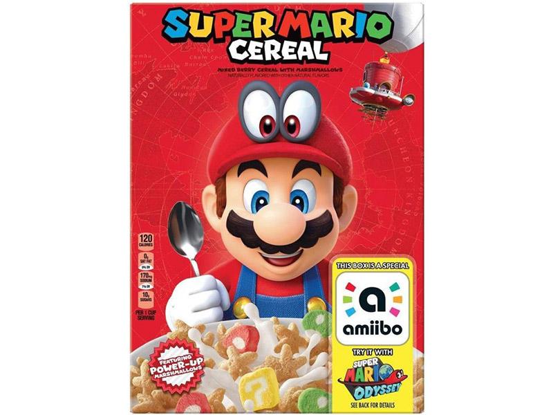 Super Mario Cereal: Endlich Klempner zum Frühstück