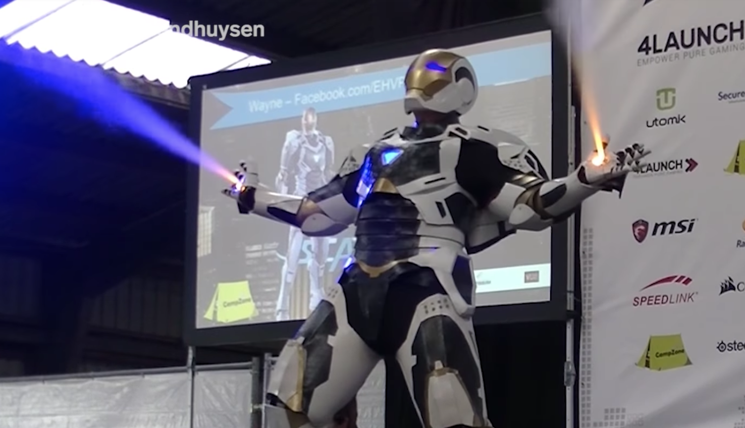 Fast wie echt: Iron-Man-Cosplay mit super Details