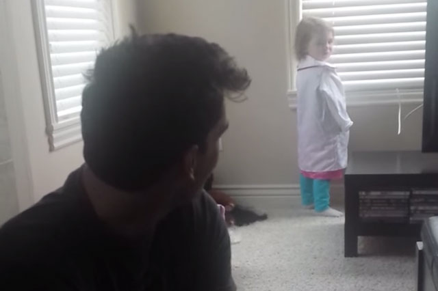 The only girl in the world who doesn't like Frozen? (video)