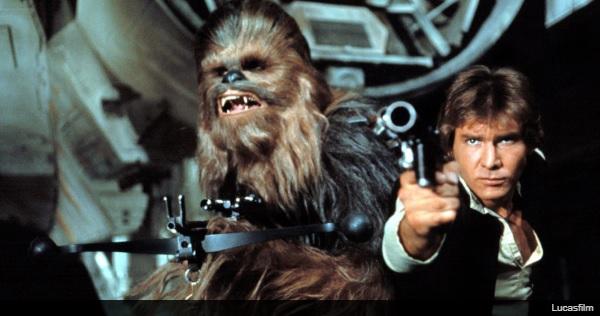 ロン・ハワード監督がシェアしたハン・ソロ映画のチューイーの写真に、軽いネタバレを発見