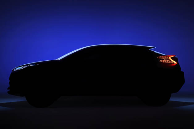 Toyota C-HR Concept teaser