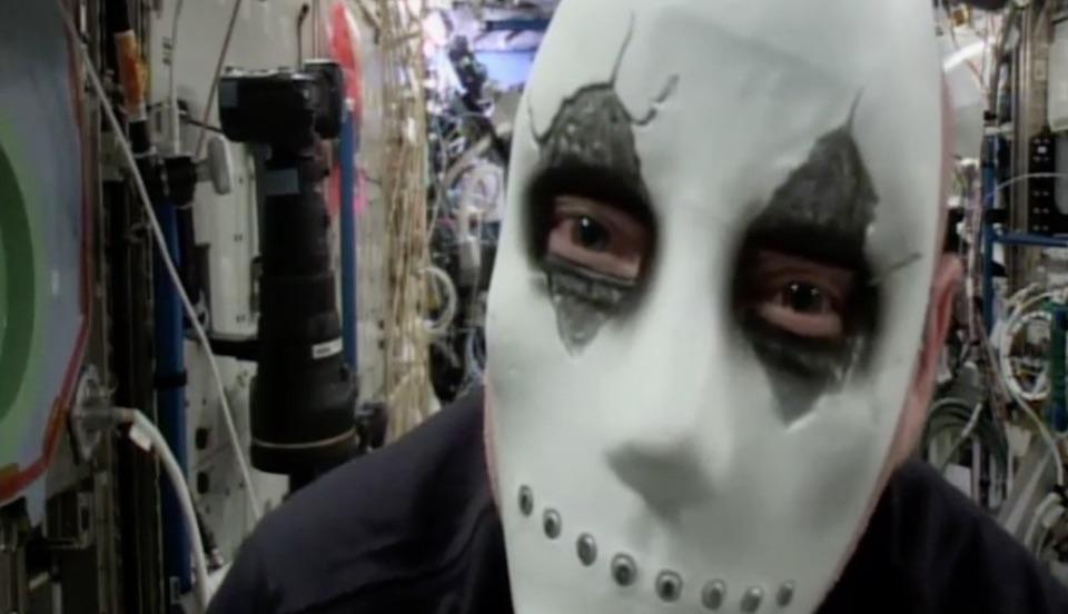 Sí, en la ISS también se celebra Halloween