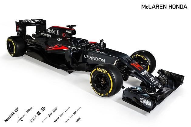 マクラーレン、2016年F1参戦マシン「MP4-31」を発表!