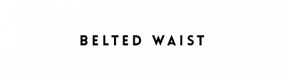 belted waist