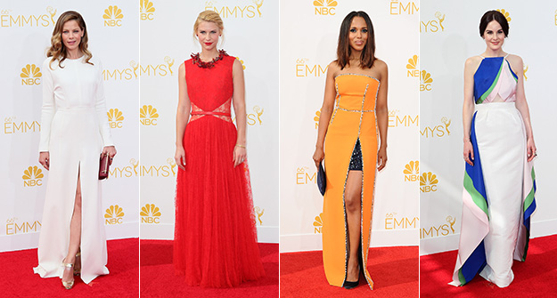 4 major fashion trends spotted on the Emmys red carpet
