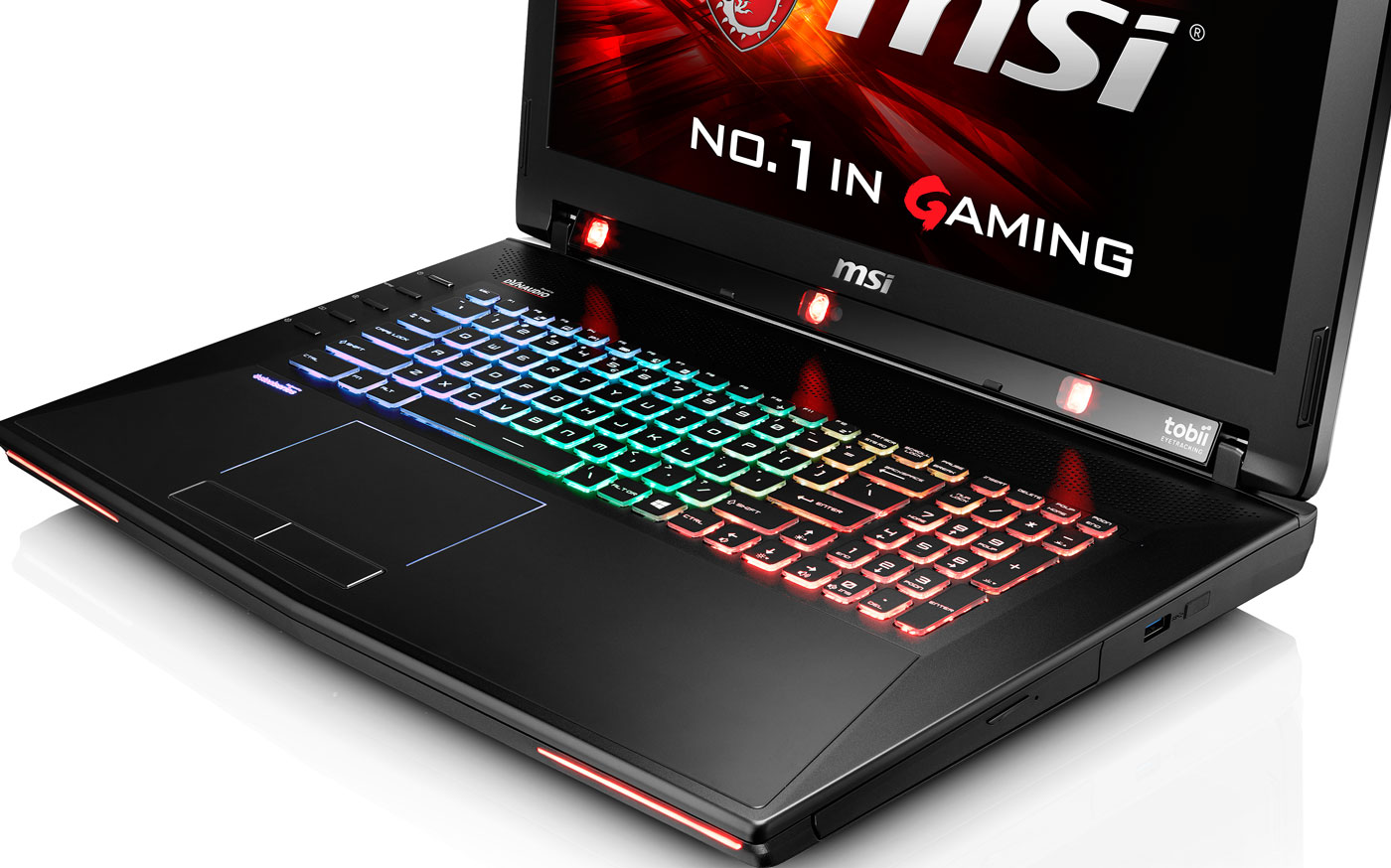 You can now buy MSI's eye-tracking laptop