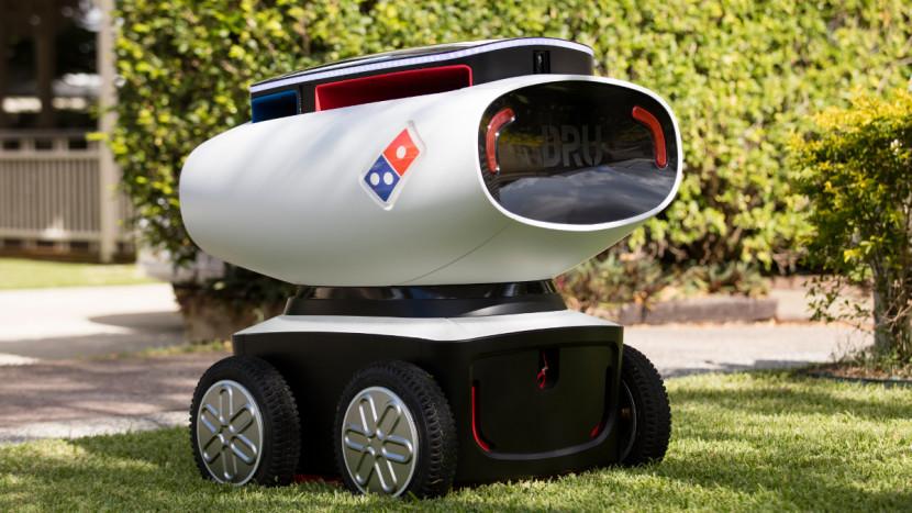 Domino's has built an autonomous pizza delivery robot