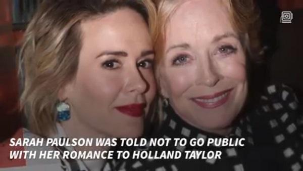 年の差は何と31歳!サラ・ポールソン、大御所女優ホーランド・テイラーとの「型にはまらない」恋愛関係について口を開く
