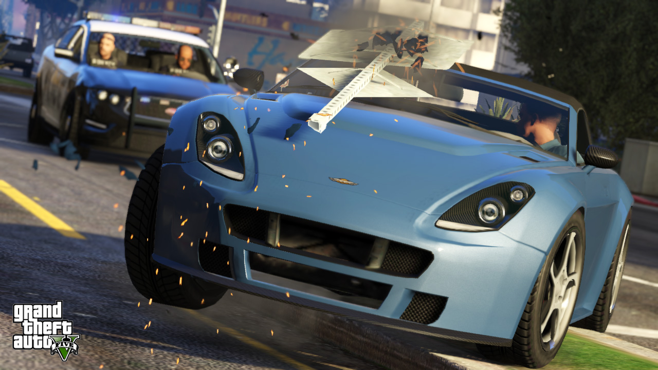 The best getaway cars in GTA V