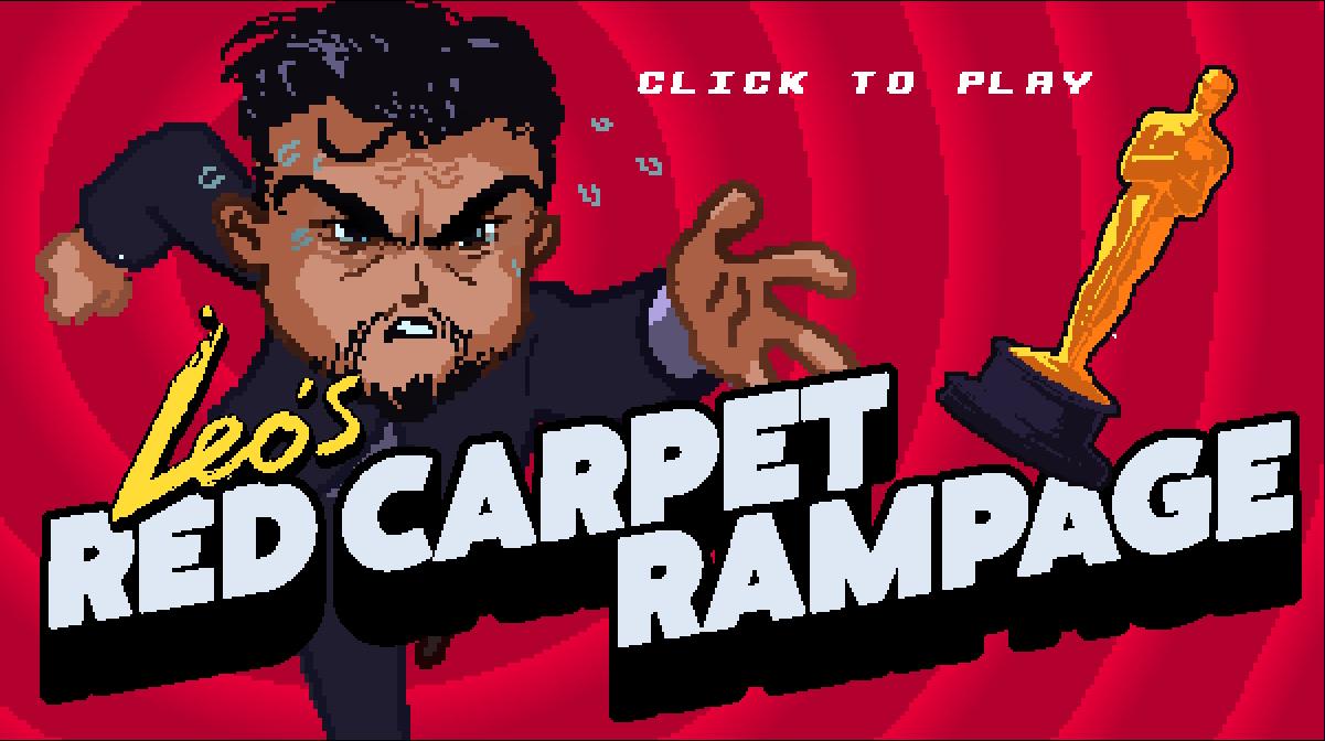 Help Leo win an Oscar in 'Red Carpet Rampage'