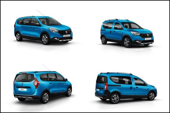 Dacia Lodgy Stepway, Dacia Dokker Stepway, Dacia, Dacia Crossover, Crossover, Paria Auto Salon, Pariser Auuto Salon, Premiere, debüt