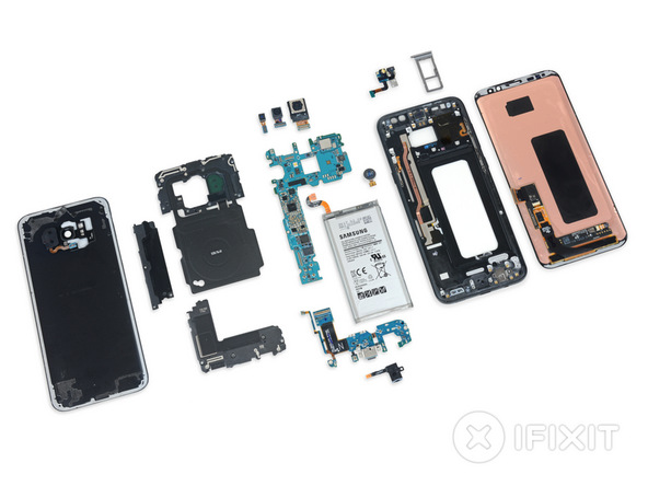 Teardown: Galaxy S8 und Galaxy S8+