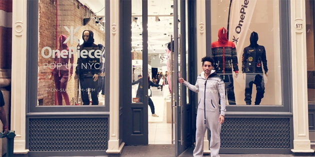 Pop-up store lets you pay for clothes using your social network clout