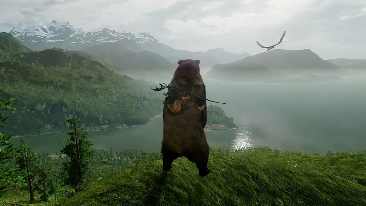 Befriend a bear or get killed by it in PS4-exclusive 'Wild'