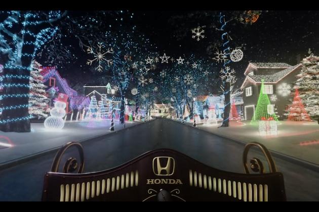 【ビデオ】ホンダ、入院中の子供たちにバーチャル・リアリティで夢のようなクリスマスをプレゼント!