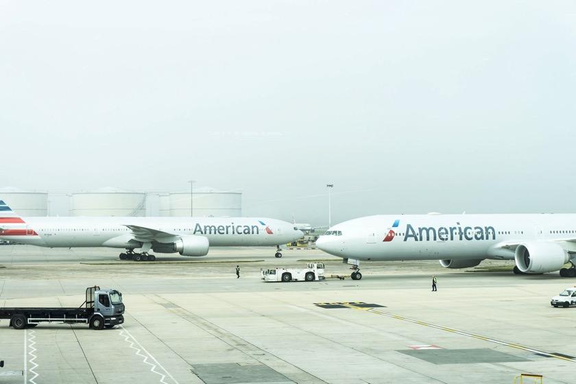 Bei American Airlines wird es eng über Weihnachten