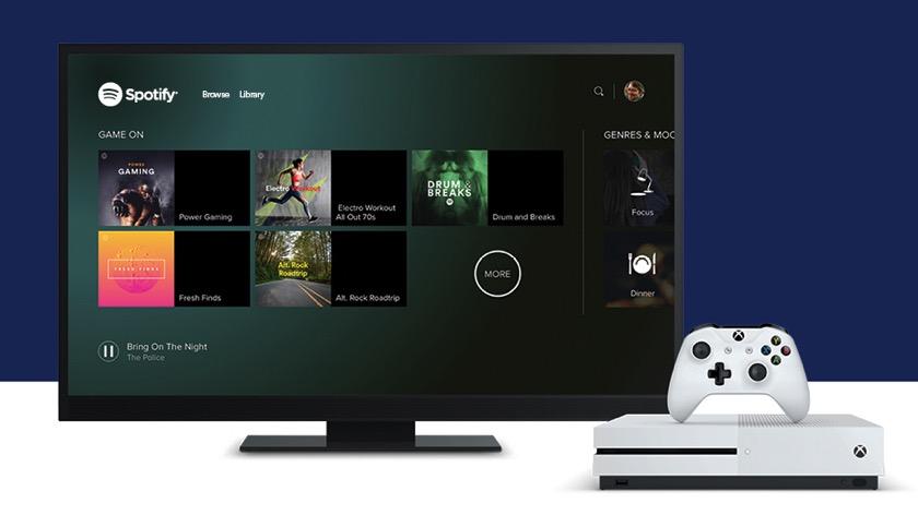 Spotify erreicht die Xbox One