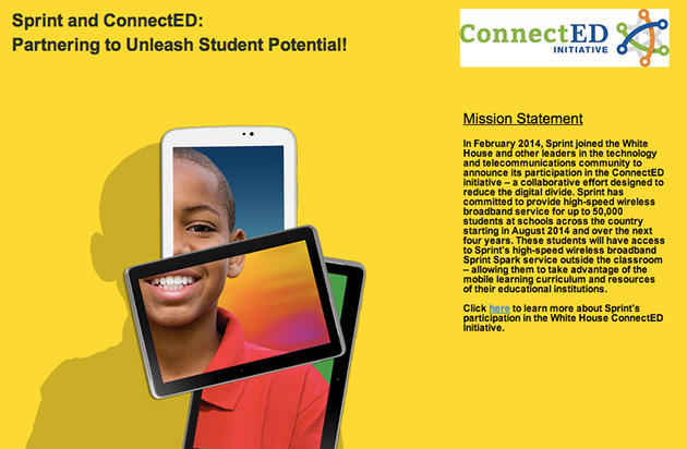 Sprint Will Provide Home Broadband To 50 000 Students In