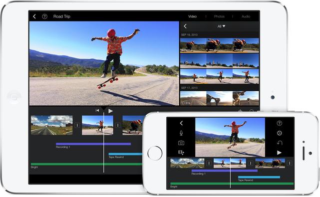 iMovie for iOS