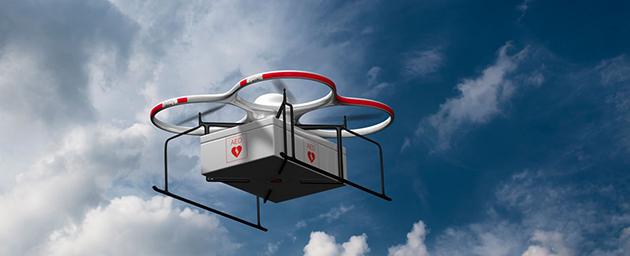medical drone deliver