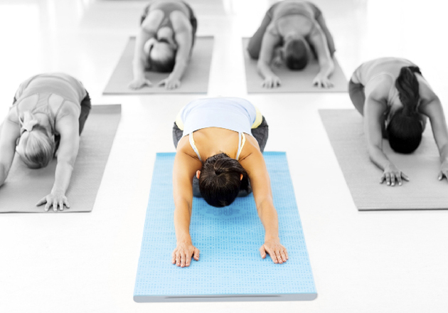 Smart yoga mat helps you perfect your poses